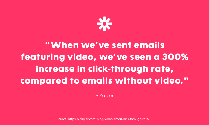 incorporating video into email marketing