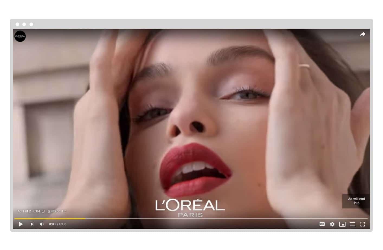 Bumper ad example