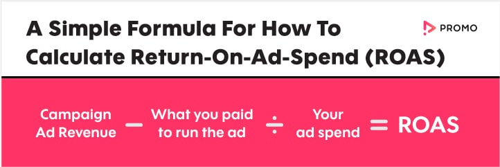 How to calculate ROAS (return-on-ad-spend)