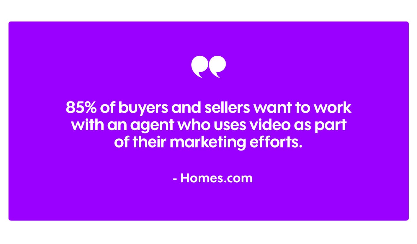 why video marketing for real estate works