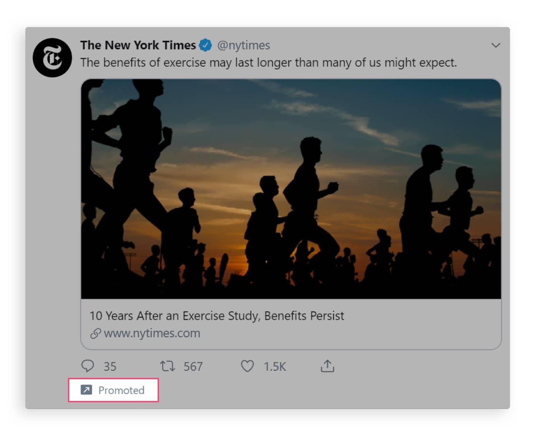 write Twitter ad copy