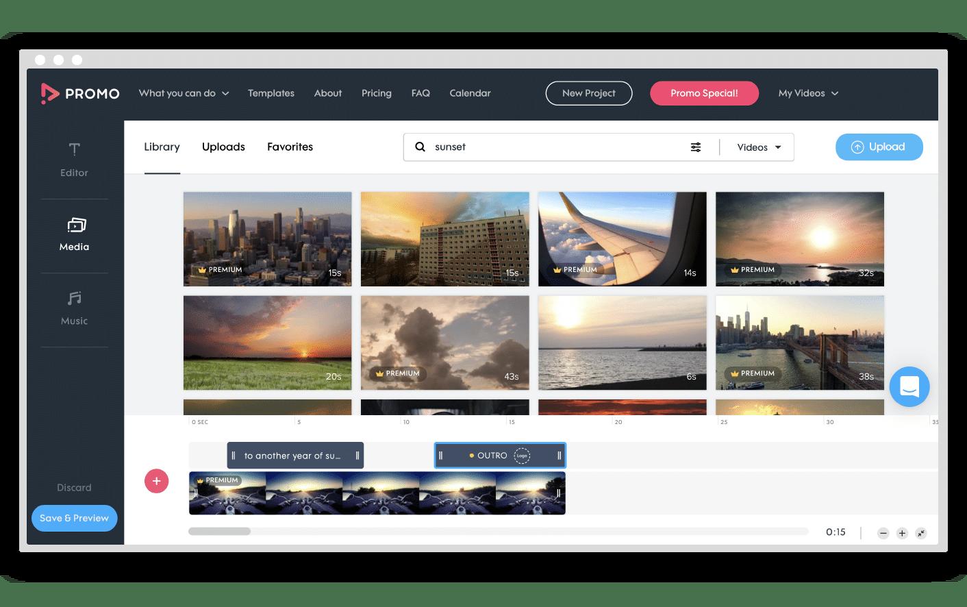 Promo.com Video Maker
