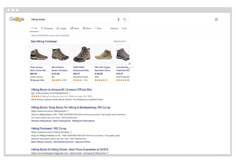 Google product shopping ads