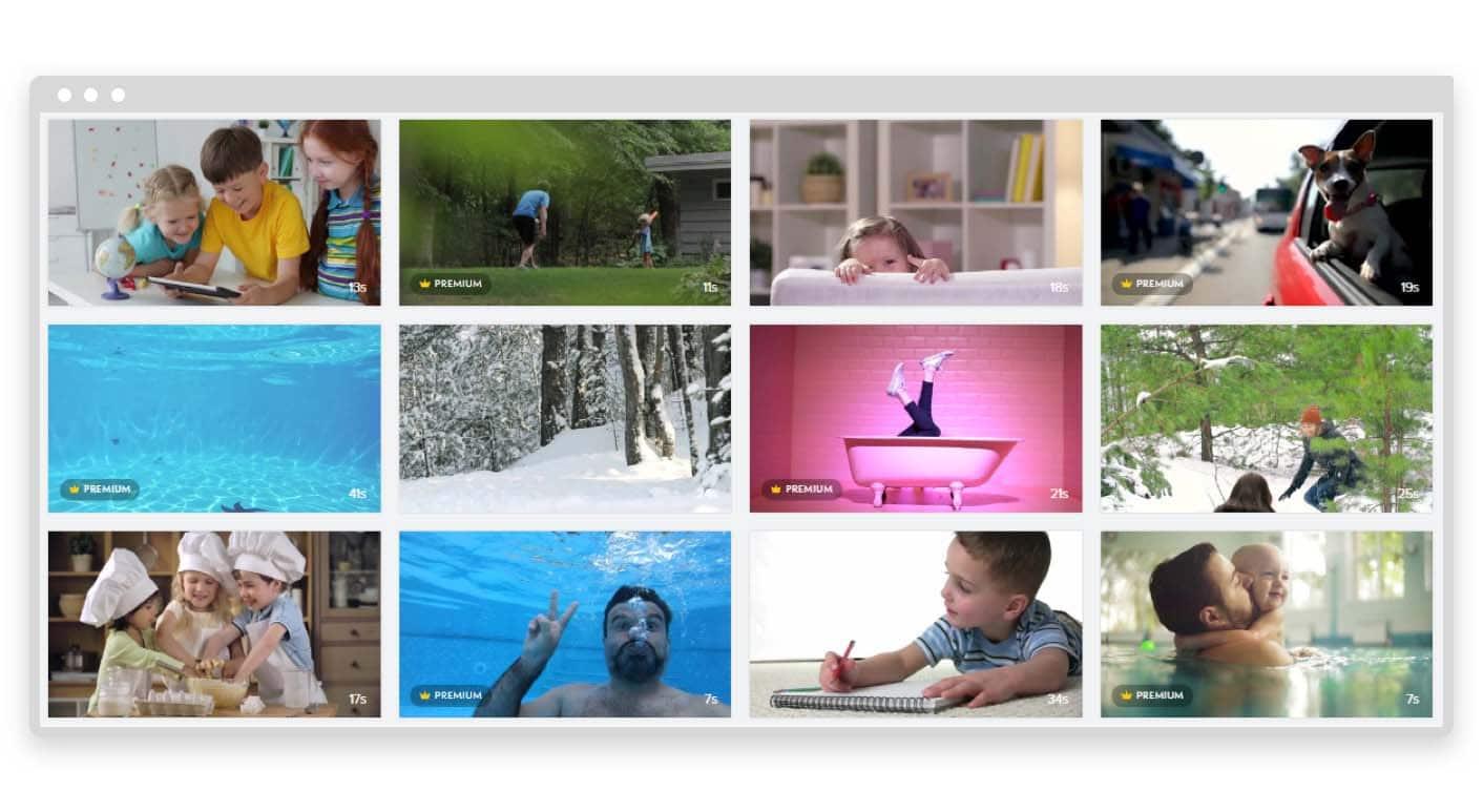 Promo.com video clips