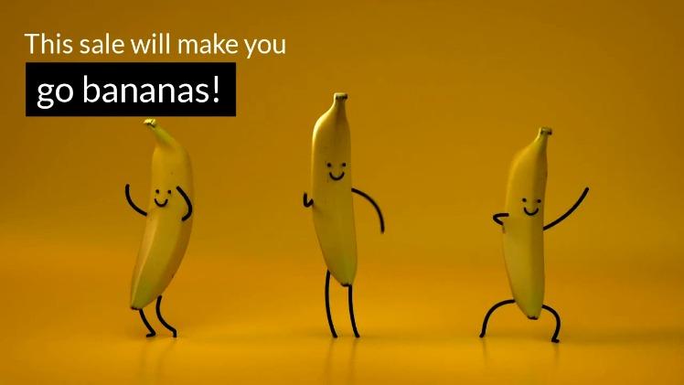 Go Bananas Sale