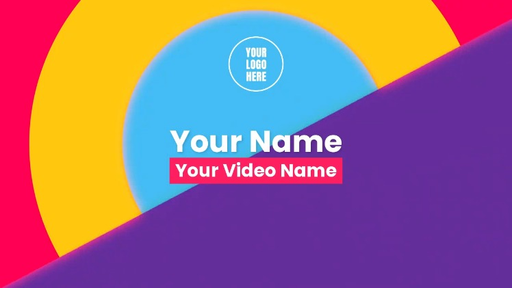 YouTube Intro - Animated Colors