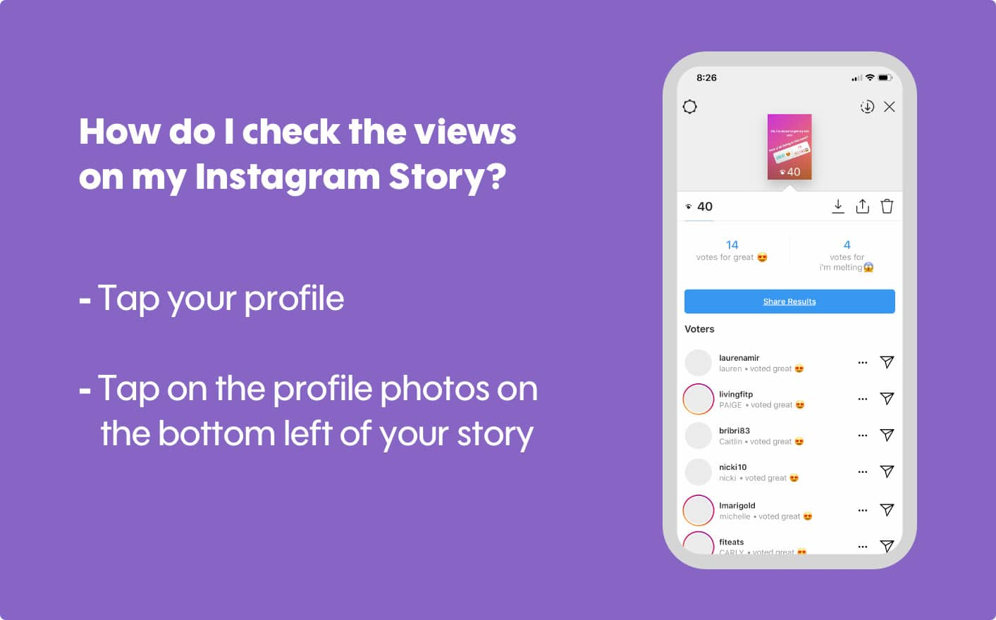 How to see who views your Instagram Stories?